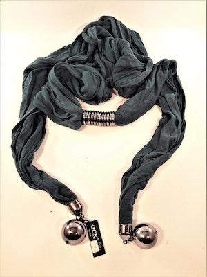 Häftig scarf, grön