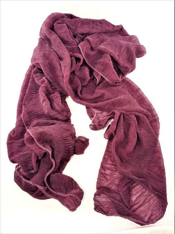 Lila enkel scarf