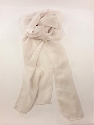 Snygg beige tunnare scarf