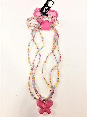 Rosamix set med armband och halsband för barn