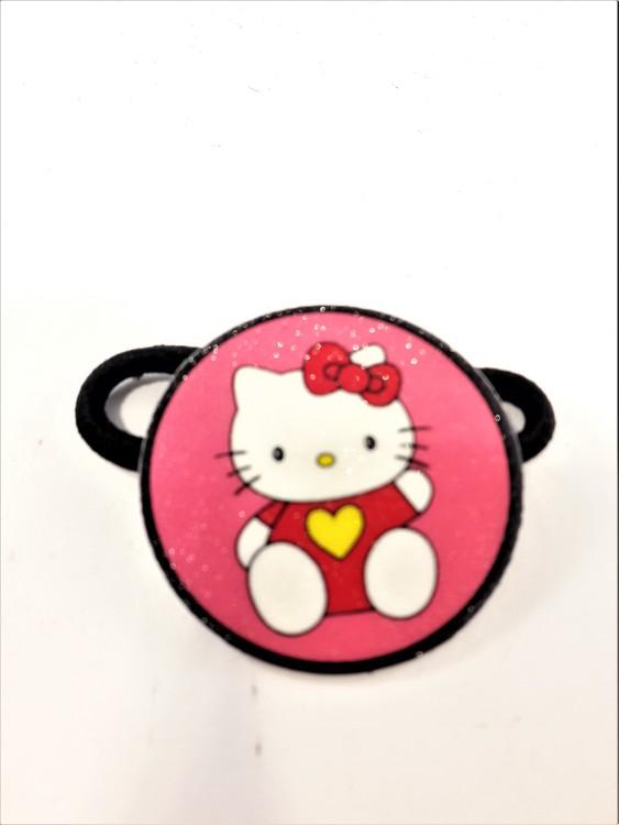 Hårsnodd med Hello Kitty motiv
