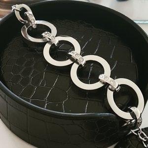 Stål Armband Modesty Silverfärg