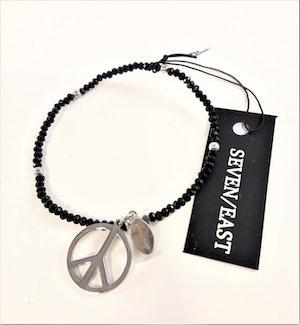 Armband med Peacemärke