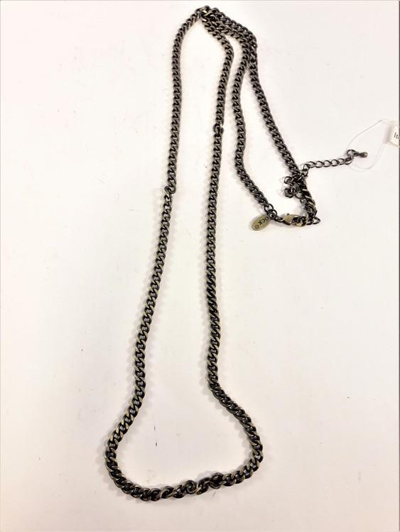 Bronsfärgad halskedja