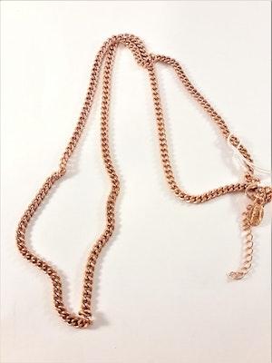 Halsband i kopparfärg ca 55