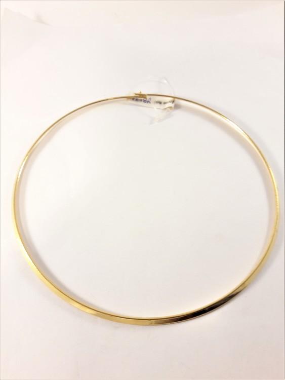 Stelt Halsband Guldfärg