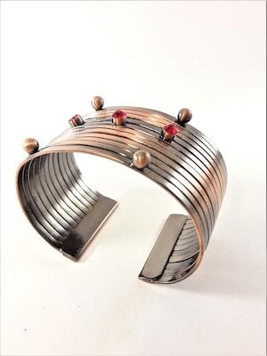 Brett Stelt Armband Kopparfärg