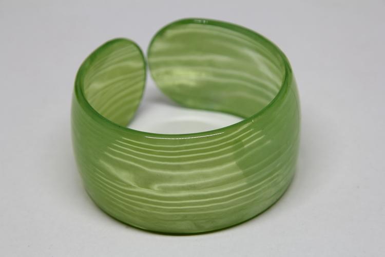 Stelt Akryl Armband Grön