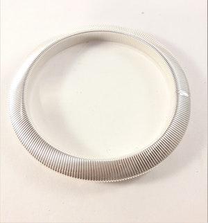 Metall Armband Vitguldfärg