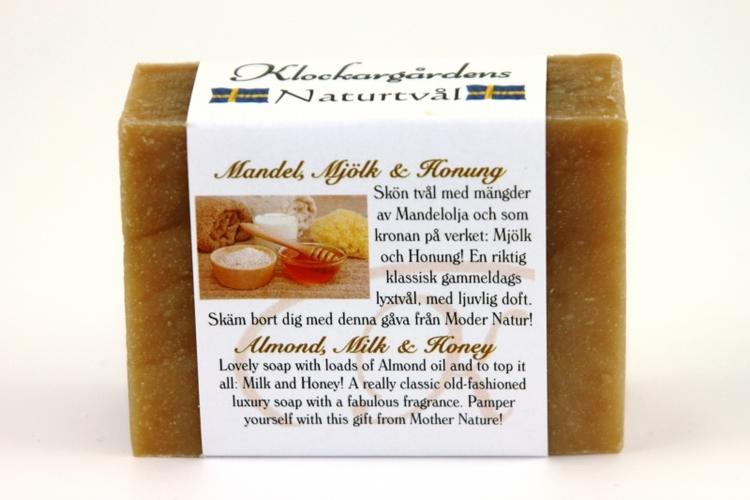 Tvål Mandel Mjölk & Honung