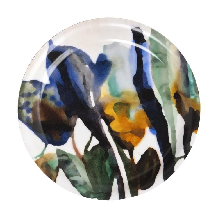 Glasunderlägg Flora. Dixie