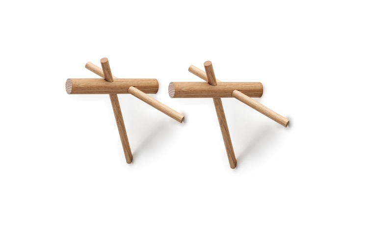 Sticks Hooks 2-pack. Ek. Normann Copenhagen
