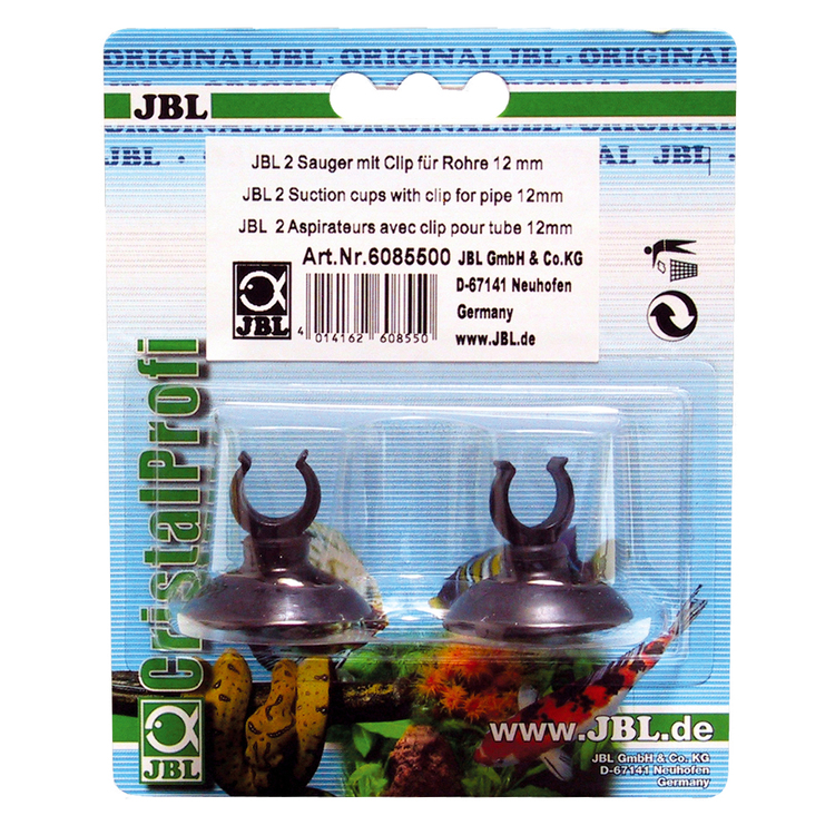 Sugkopp med clips 12mm - 2-pack JBL