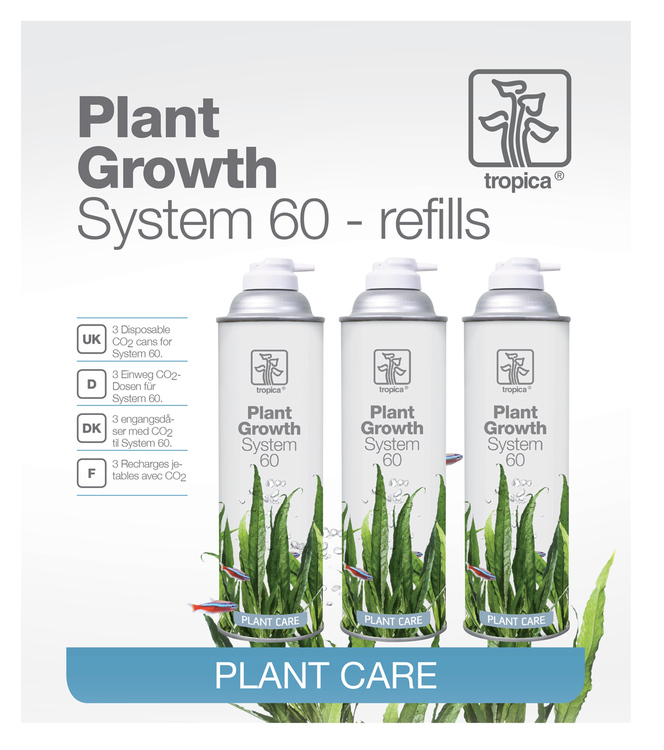 CO2 System 60 refill 3 st