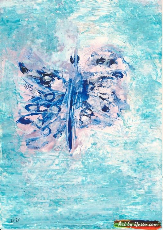 Dansande fjäril