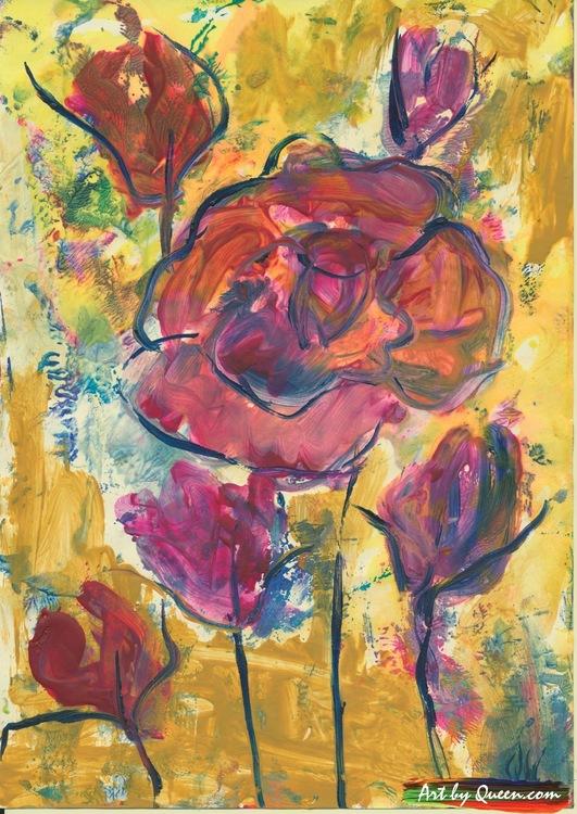 Vackra rosor