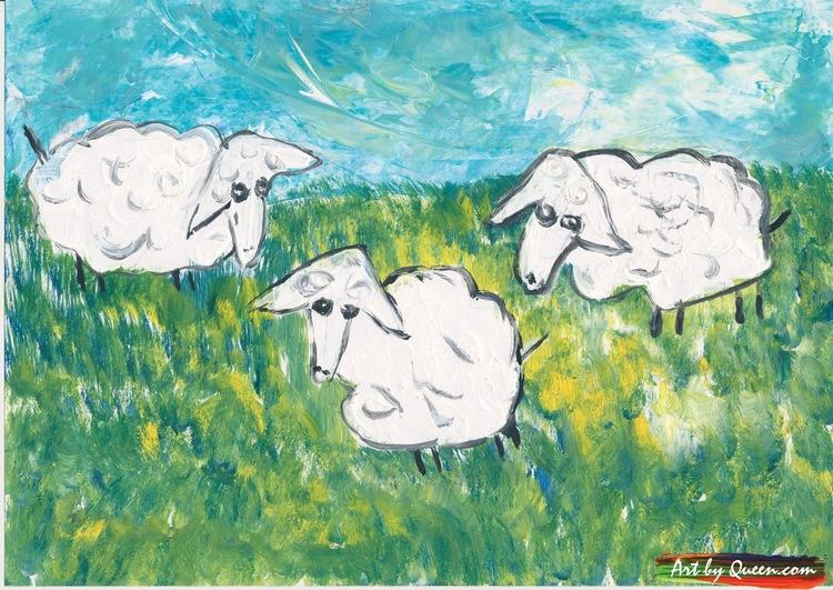 Tre ulliga får