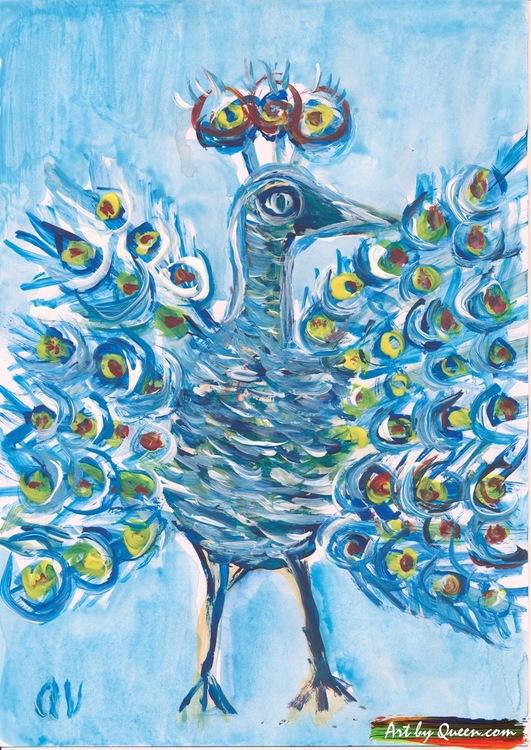 Supperpåfågel