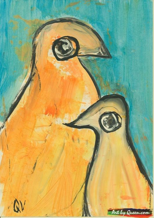 Två pingviner