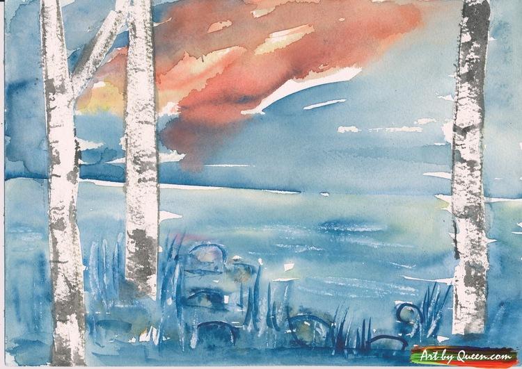 Blå sjön