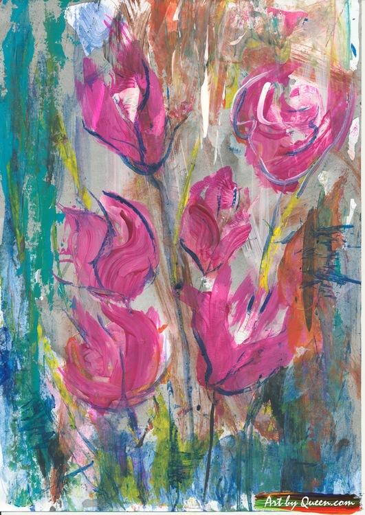Blommande bukett