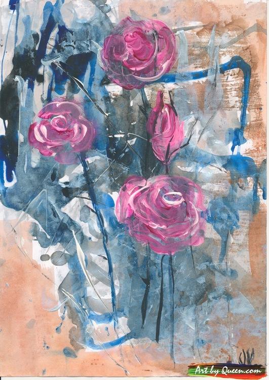 Fyra rosor