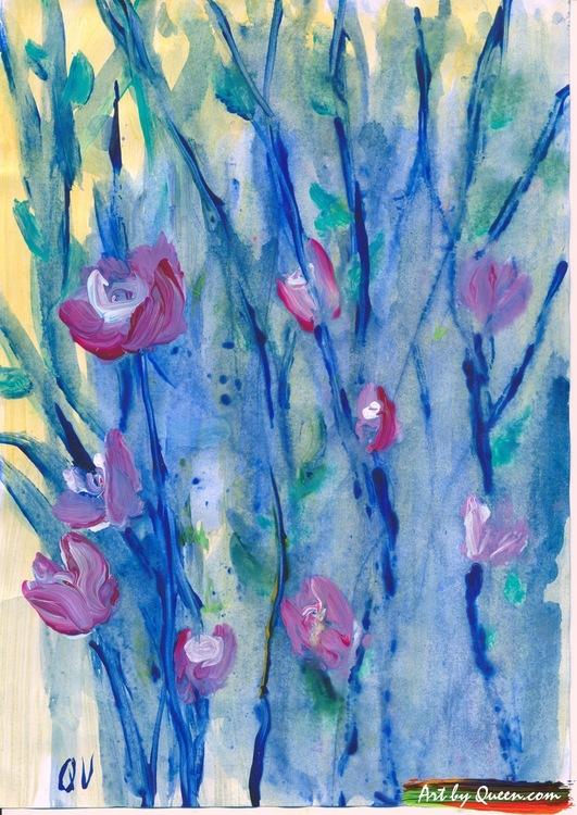 Vildväxande blommor