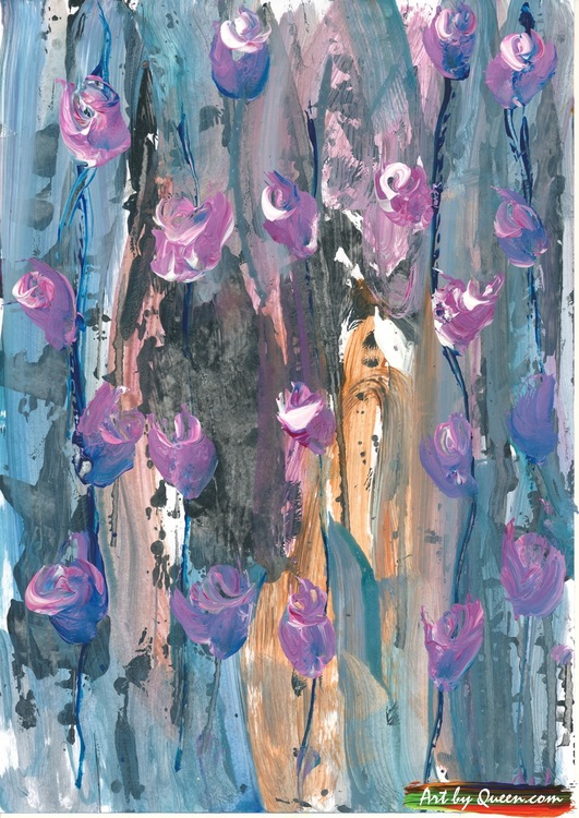 Vildväxande blommor doftar