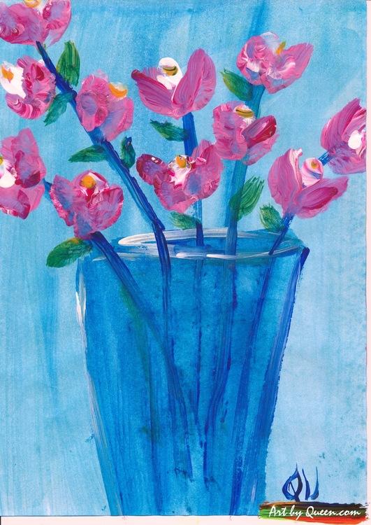Blommor i vasen