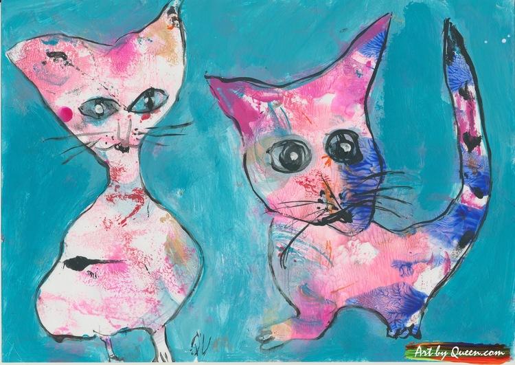 Två världens goaste katter