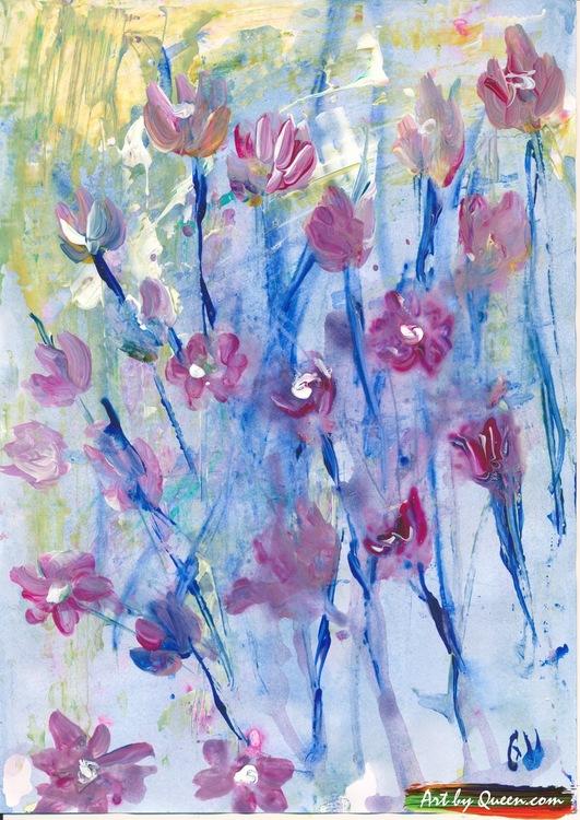 Vilda blommor doftar