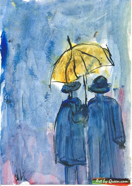 Promenerande par