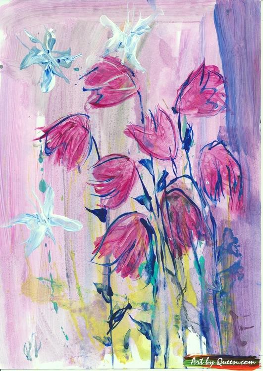 Blommor på ängen