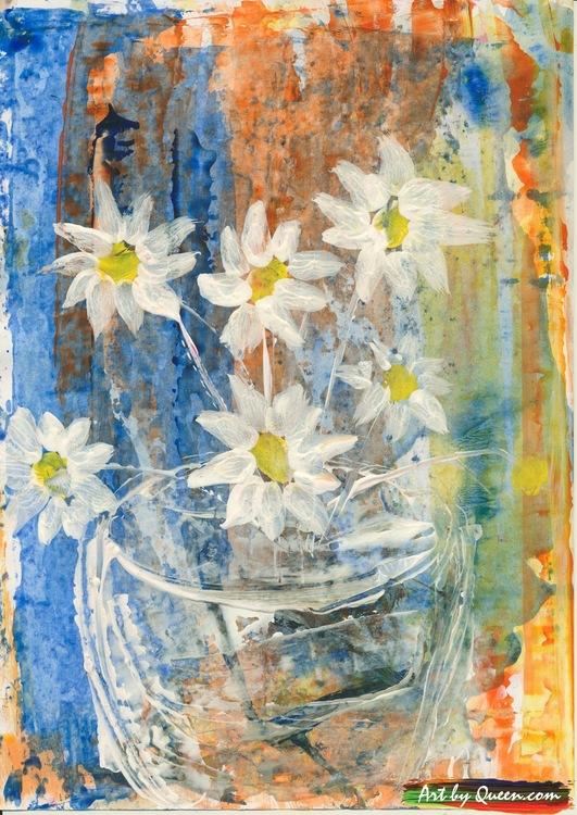 Doftande blommor i vasen