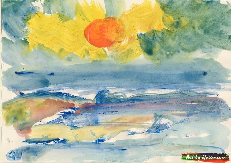 Solig dag vid havet