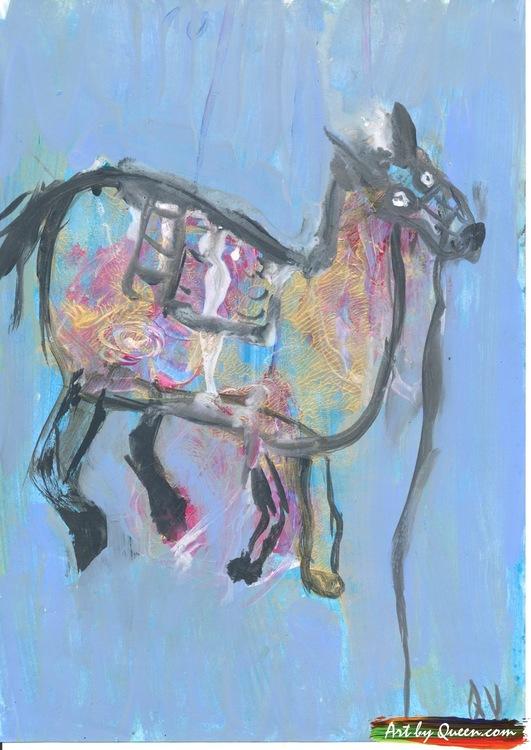 Guldhästen på vandring