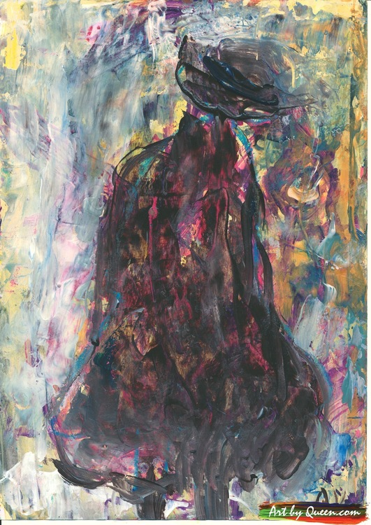 Kvinnan i svart kappa