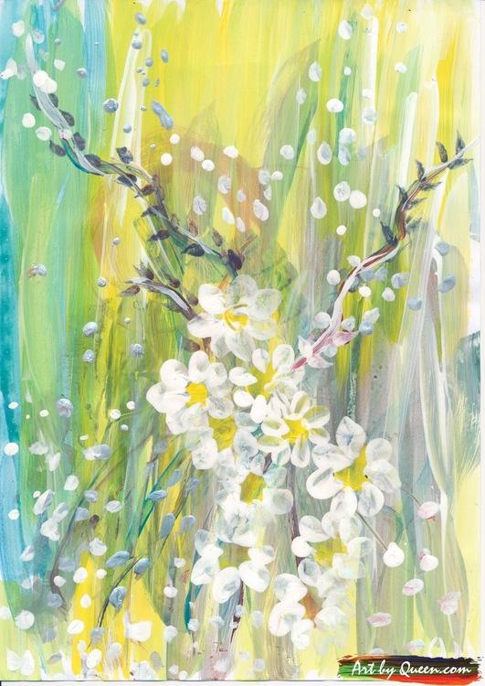 Doftande vita blommor