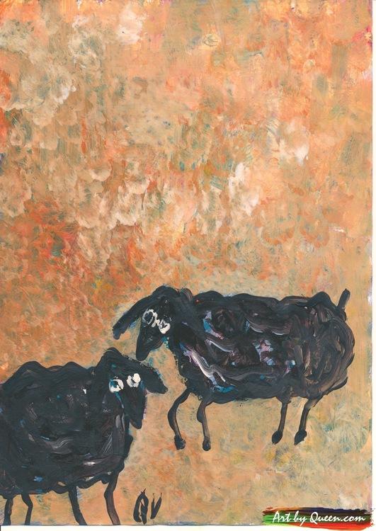 Två svarta får