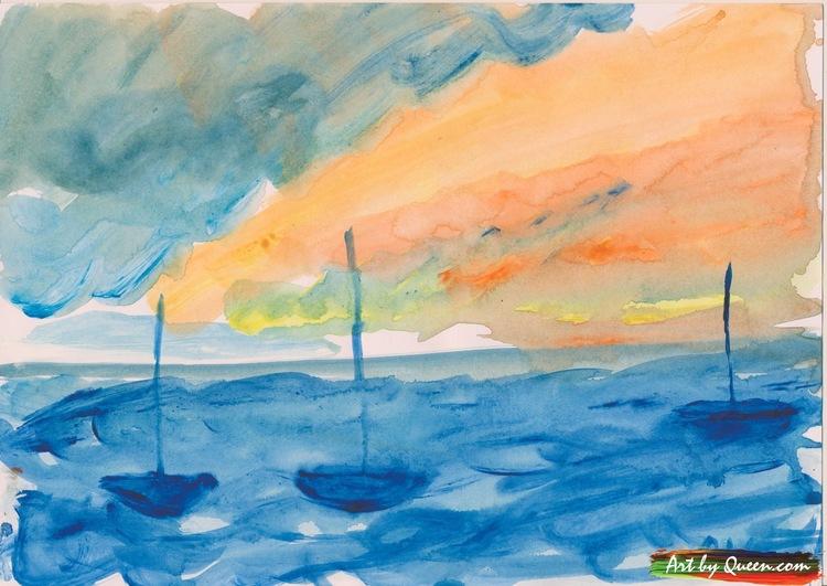 Segeldagen med tre segelbåtar