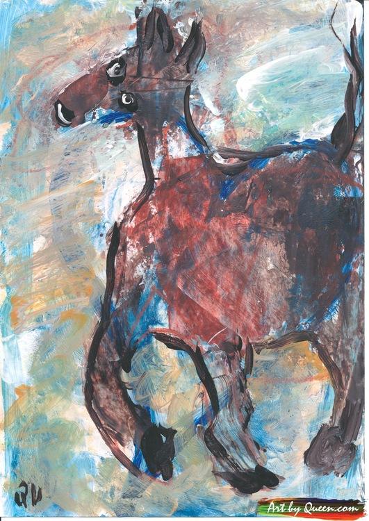 Dansande häst