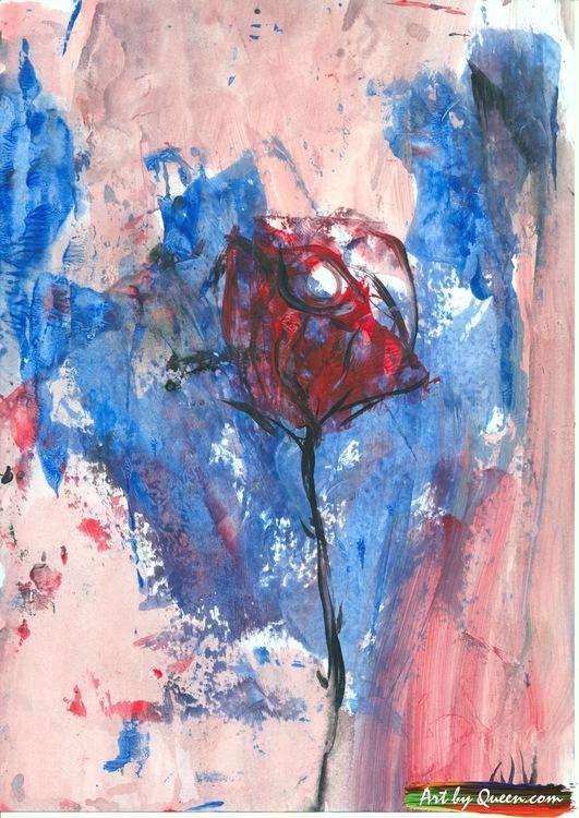 Rosen i knopp