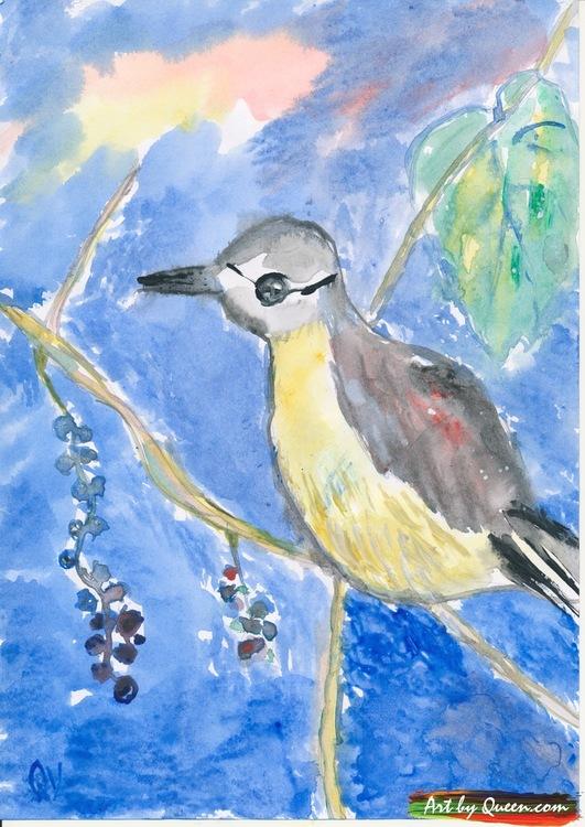 Drömmande fågel