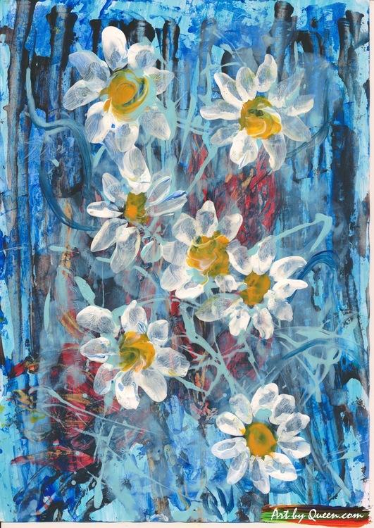 Vilda blommors dans