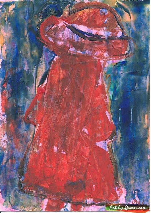 Flickan i röd kappa