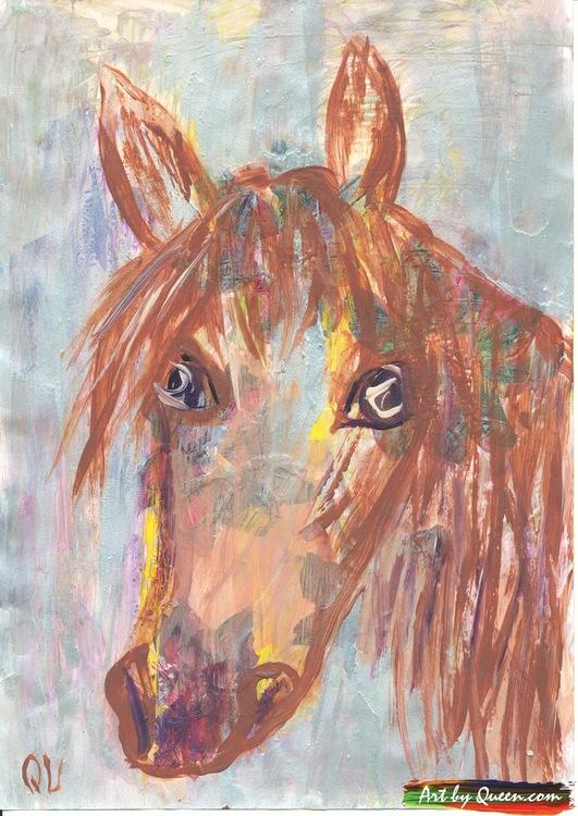 Min vackra häst