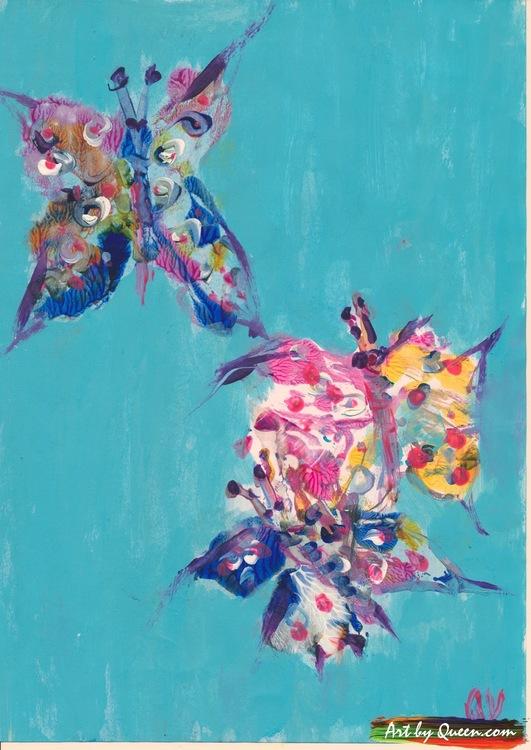 Dansande fjärilar