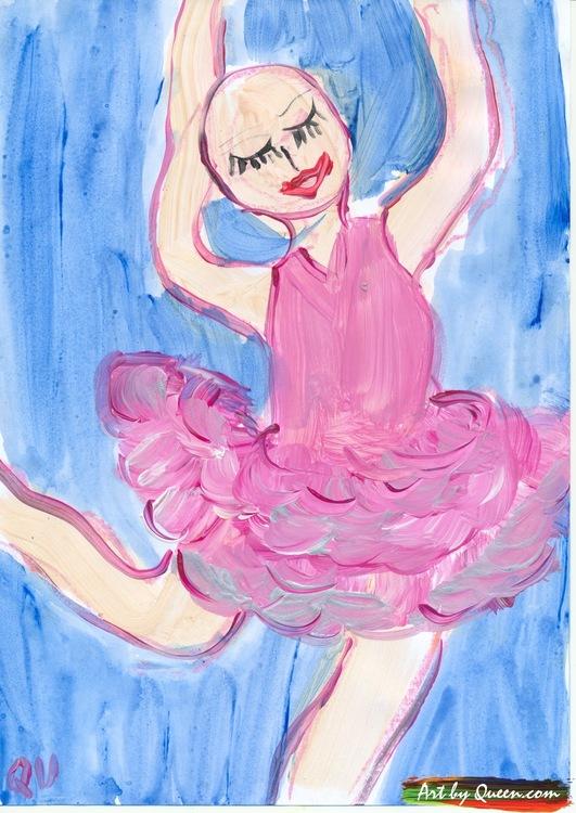 Kvinnan i sin dans