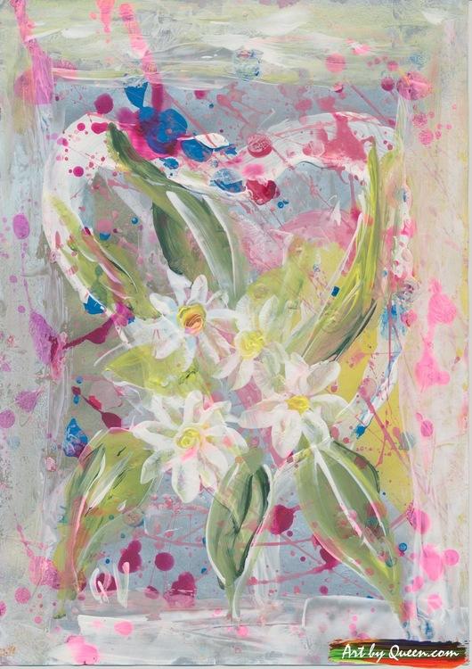 Doften av vita blommor