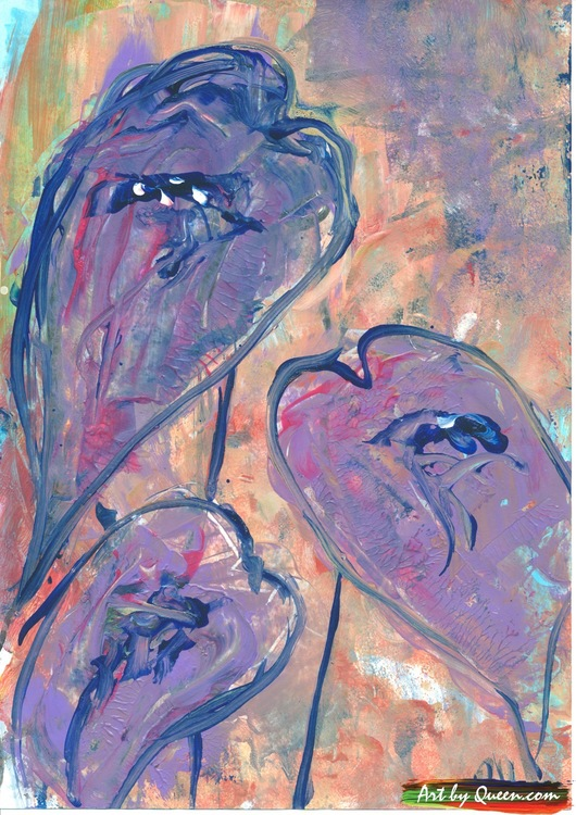 Tre fina rosenkalla